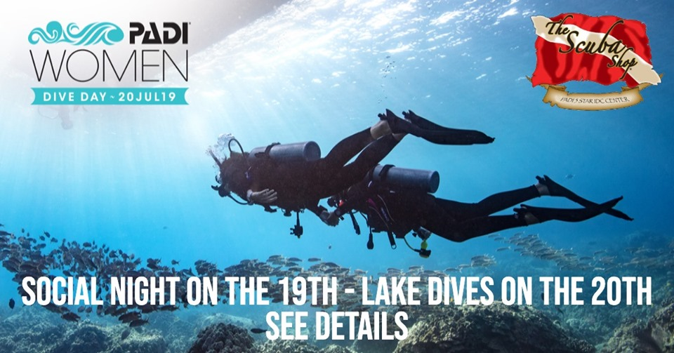 Padi Womens Dive Day 2019
